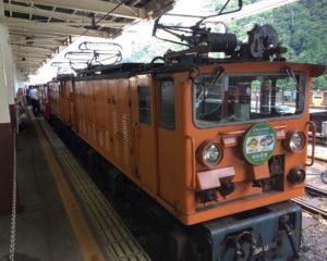 黒部渓谷鉄道トロッコ電車