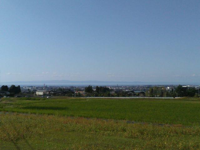 会場付近からの景色