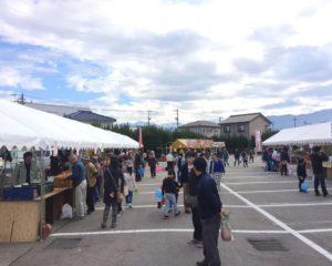 農業祭 飲食・販売コーナー