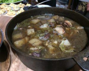 豚肉と大根・白菜煮