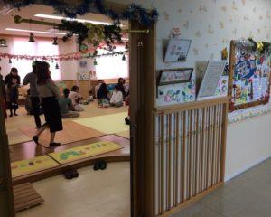 子育て支援センター入口