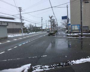 ①生地コミュニティーセンター前 県道2