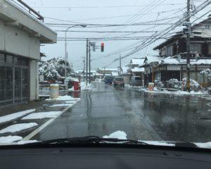 ⑩宇奈月町 熊野交差点前 旧道