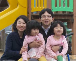 移住当時の家族写真(2015年12月)