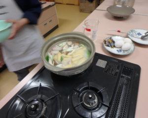 味噌煮込みうどんの製作過程