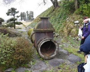 流水客土の配管