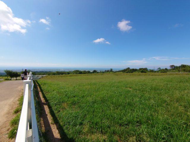 牧場からの風景