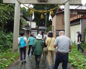 鶏野神社の鳥居