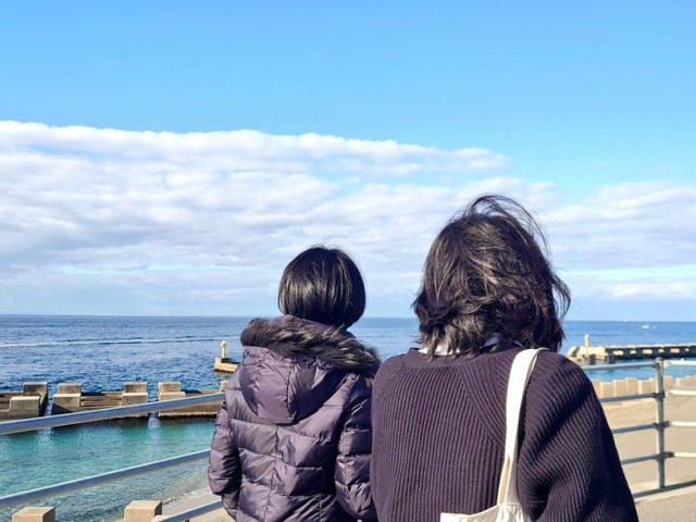 海も見ましたよ♪