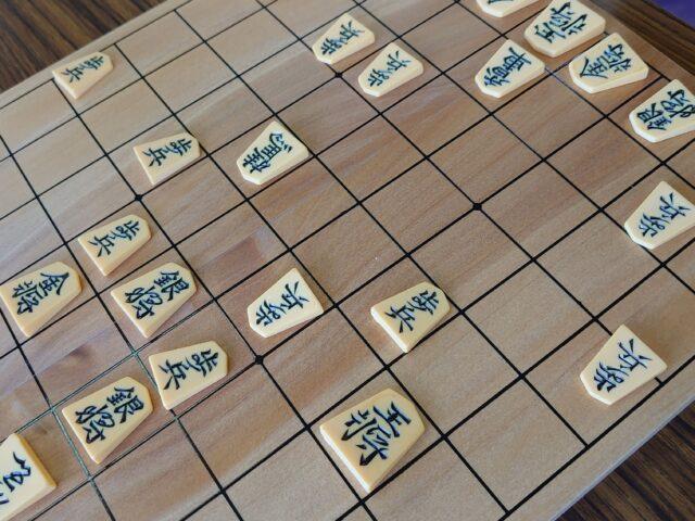 初めての将棋
